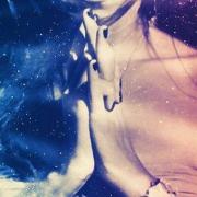 Ivonne Delaflor meditating in Space